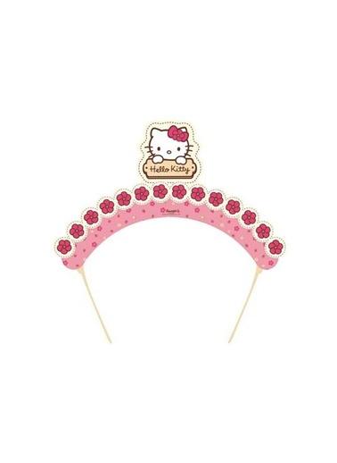 Hello Kitty Çiçekler Taç 6 Adet-Hello Kitty